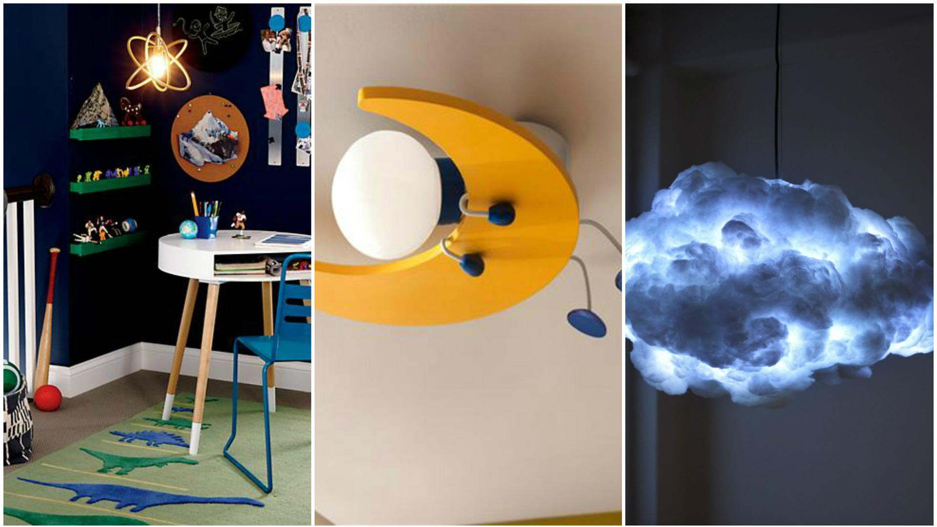 Awesome light fixtures your kids will love