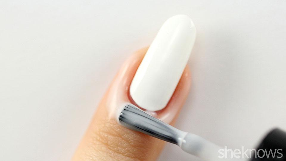 Apply Diy L Off Base Coat Around Your Nail To Make The Cleaning Easier After You Re Done With Ombre Can Easily A Yourself