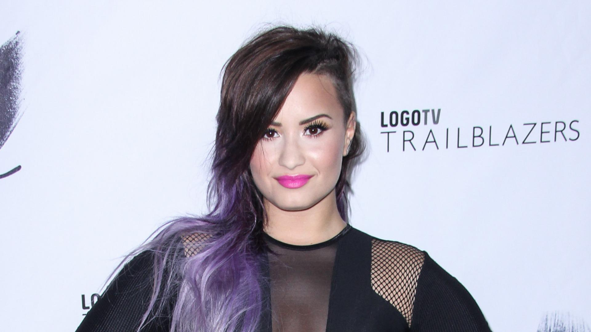 Demi Lovato reveals which female singer inspires her most