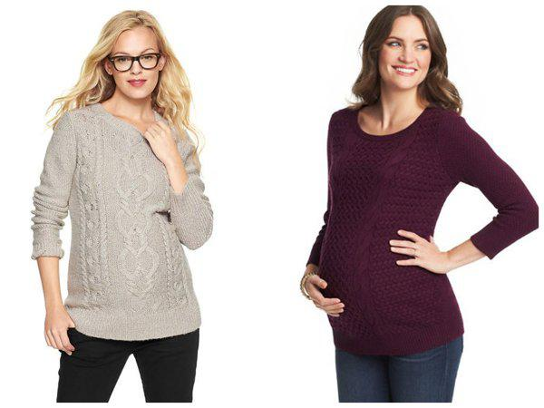 maternity sweaters to blanket your bump