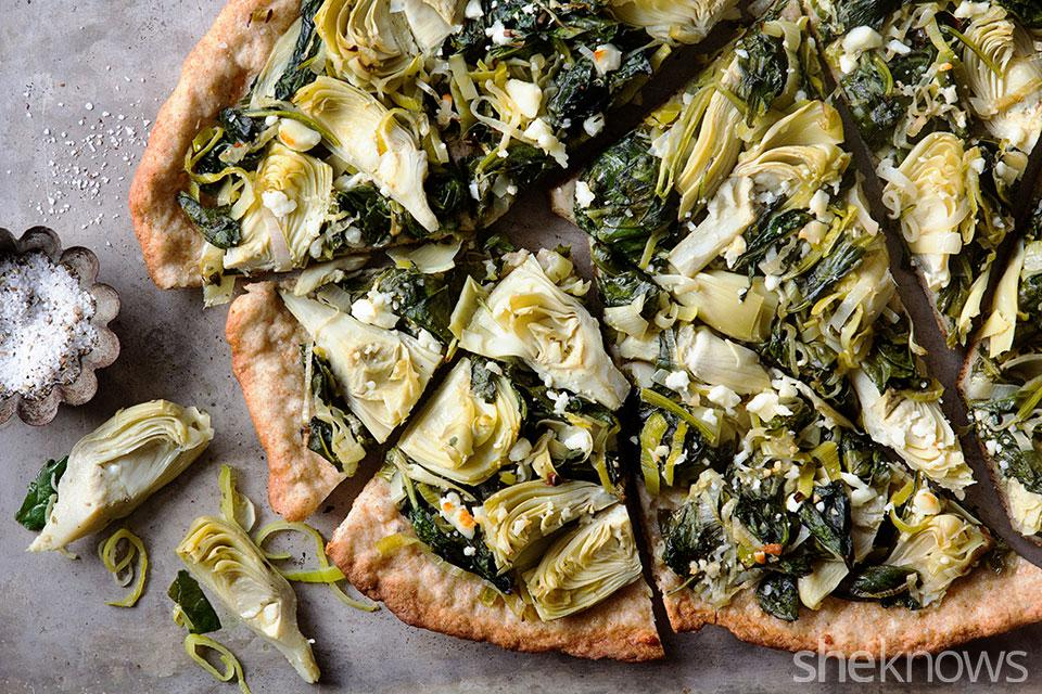 Kick Start A Year Of Healthy Eating With Thin Crust