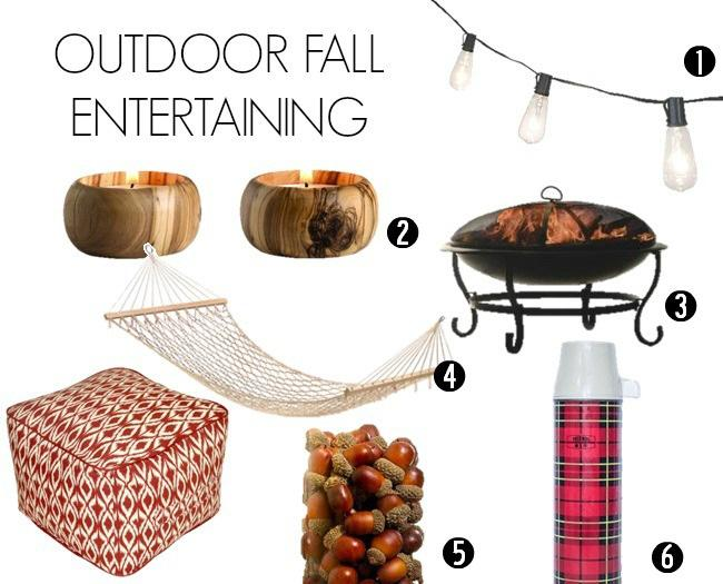Hosting the perfect  fall party outdoors