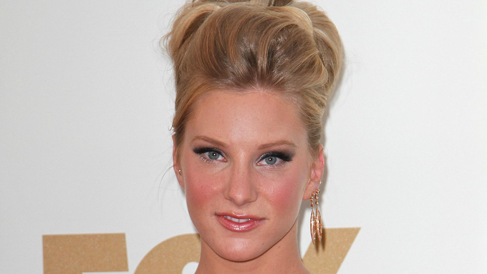 Heather Morris is gleeful about her engagement