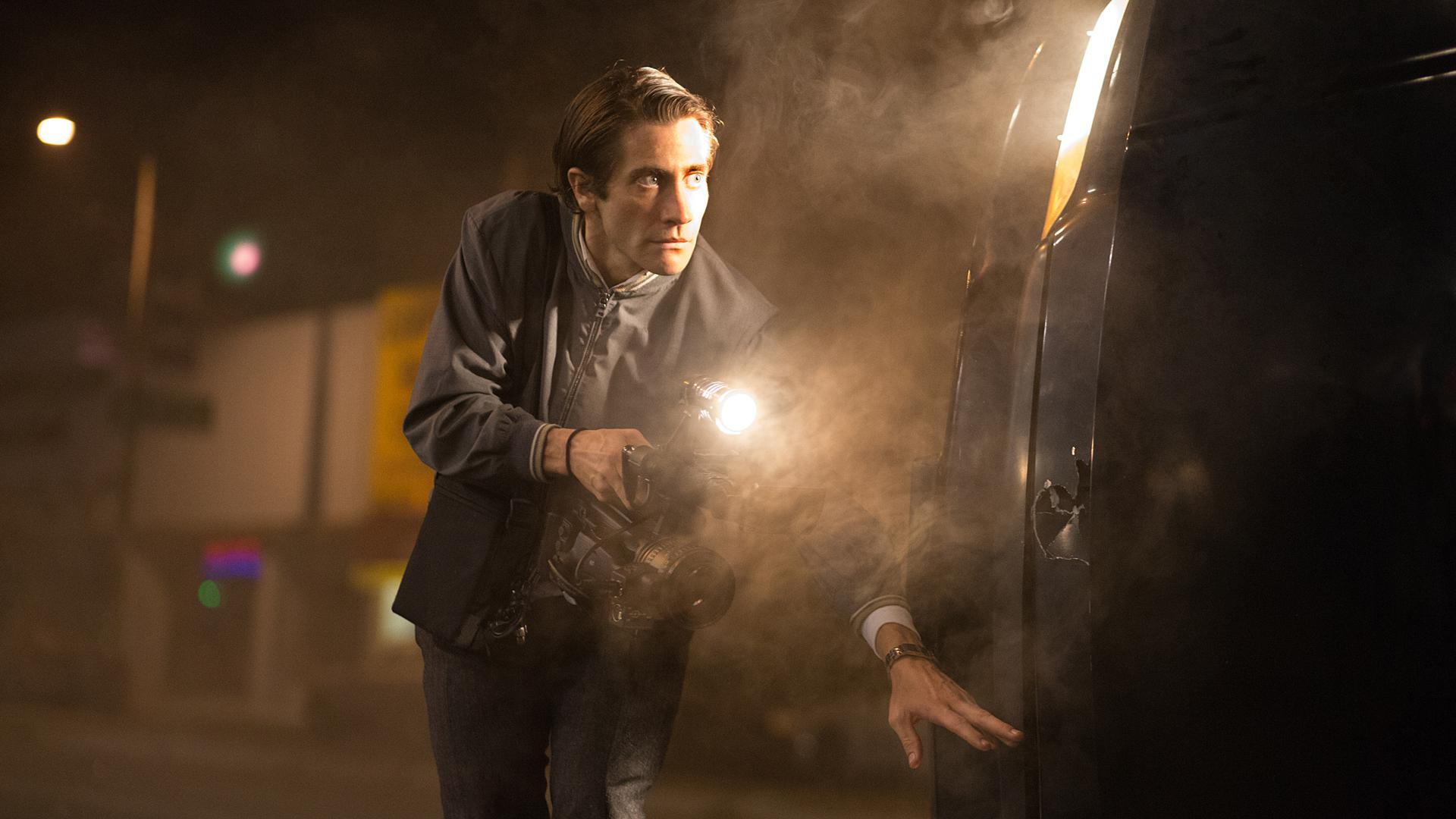4 Times Jake Gyllenhaal gives us the creeps in <em>Nightcrawler</em> trailer