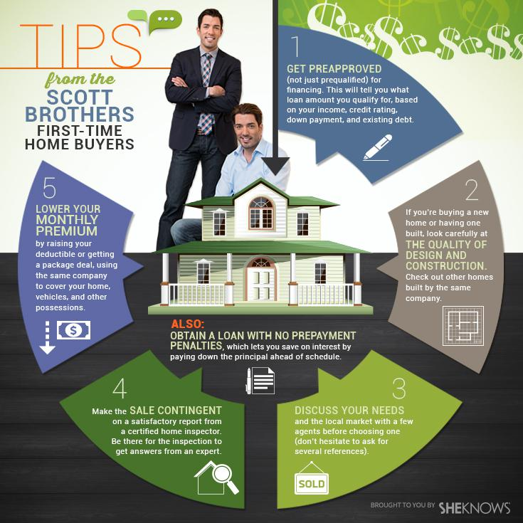 Jonathan and Drew Scott share vital tips for first-time homebuyers