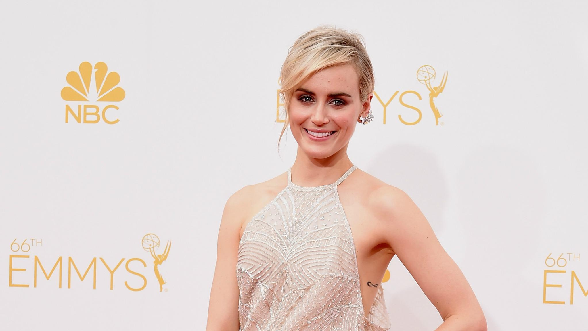 Taylor Schilling at the 2014 Primetime Emmys — Nailed it