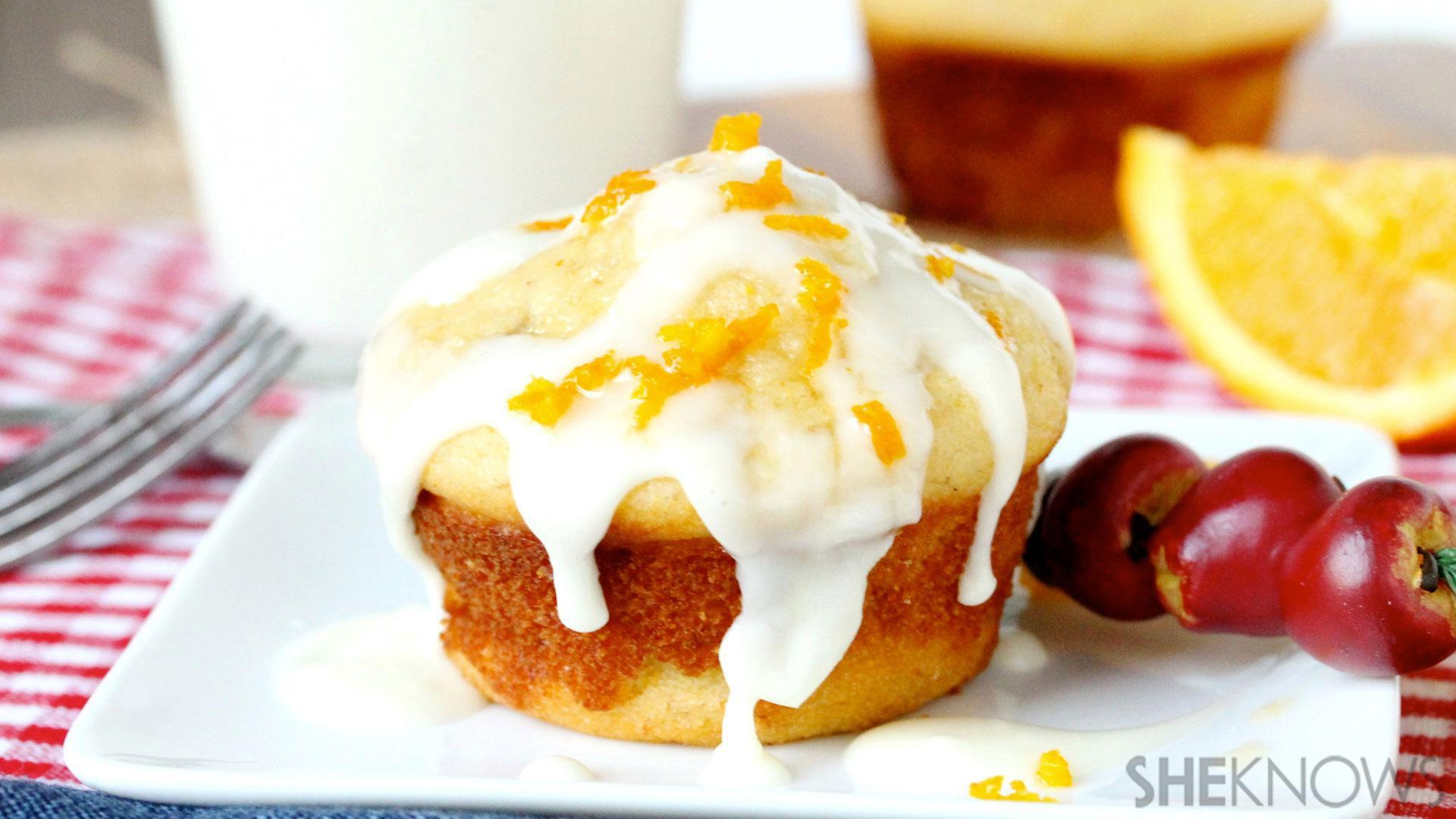 Banana cornbread muffins are your breakfast-dessert obsession