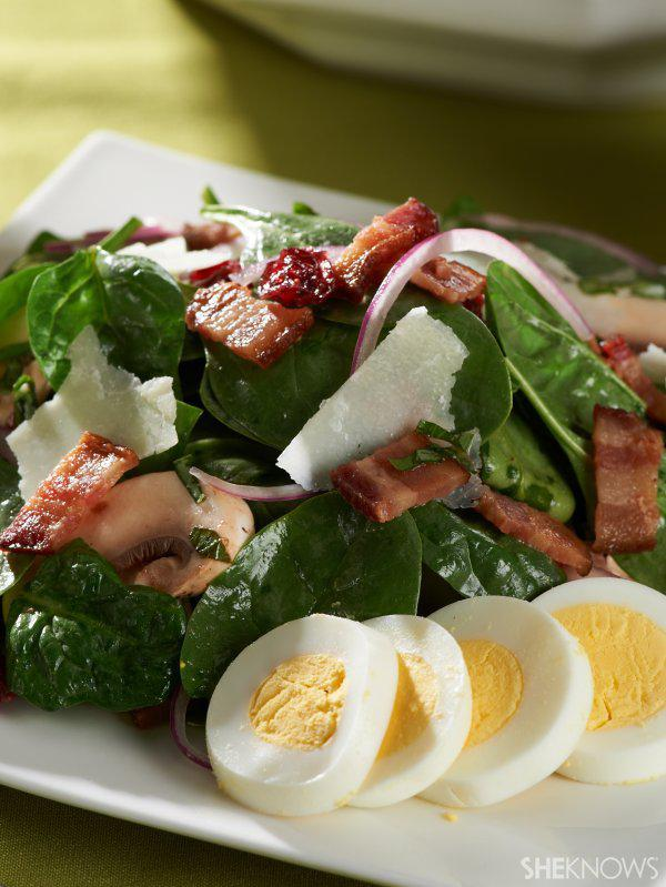Warm Up That Winter Salad!