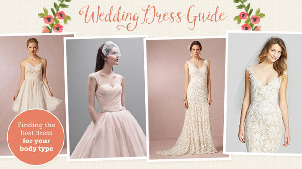 Wedding dresses vs. body types: How they match up