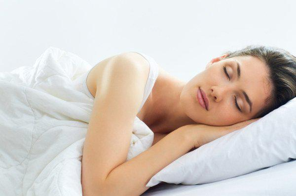 dreaming woman