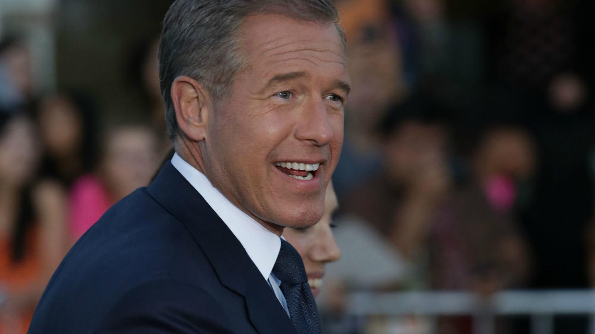 Brian Williams has a lot to say about <em>The Bachelorette</em>