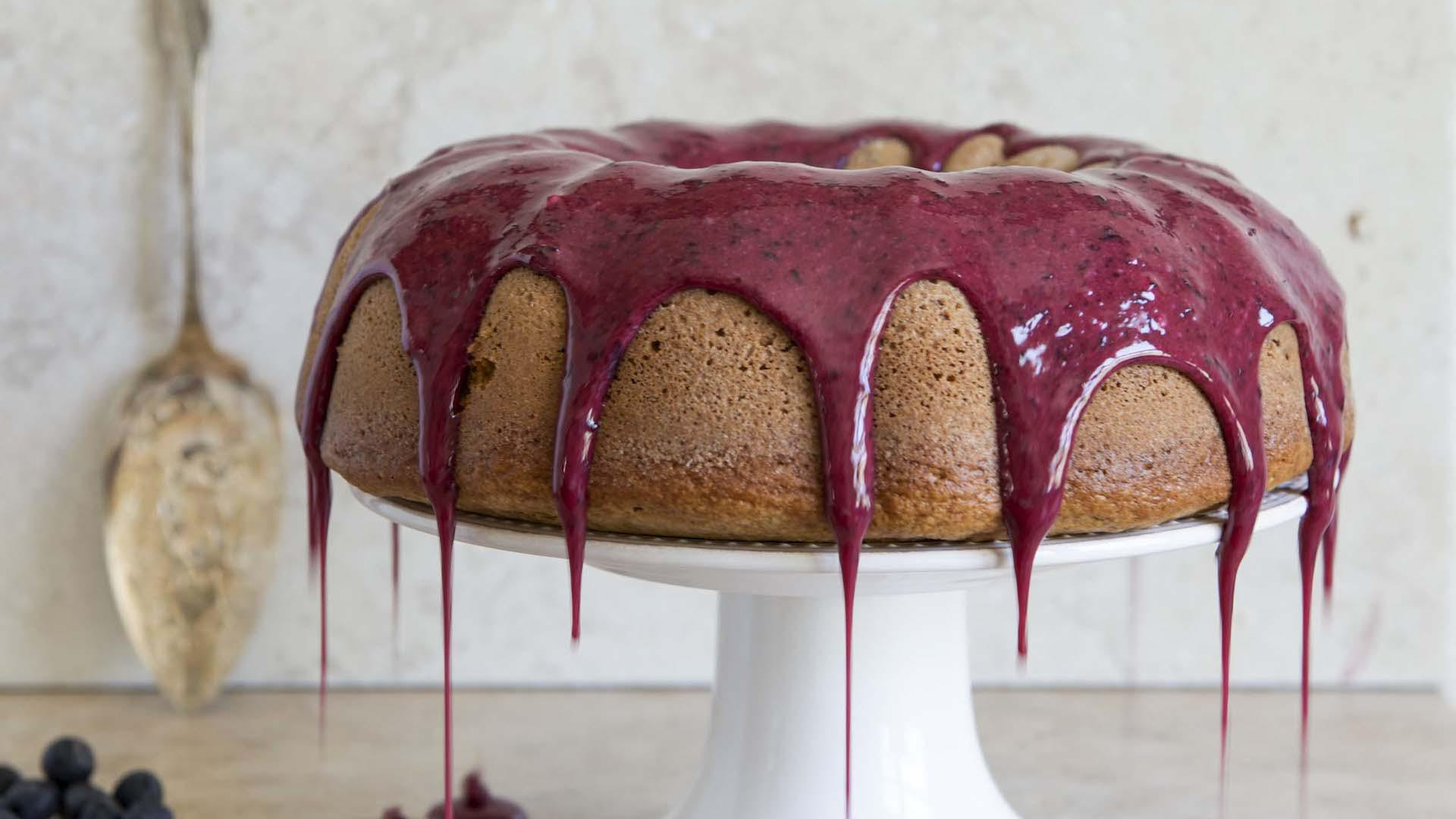 Seriously delicious whole-wheat blueberry Bundt cake is the perfect (healthy) dessert