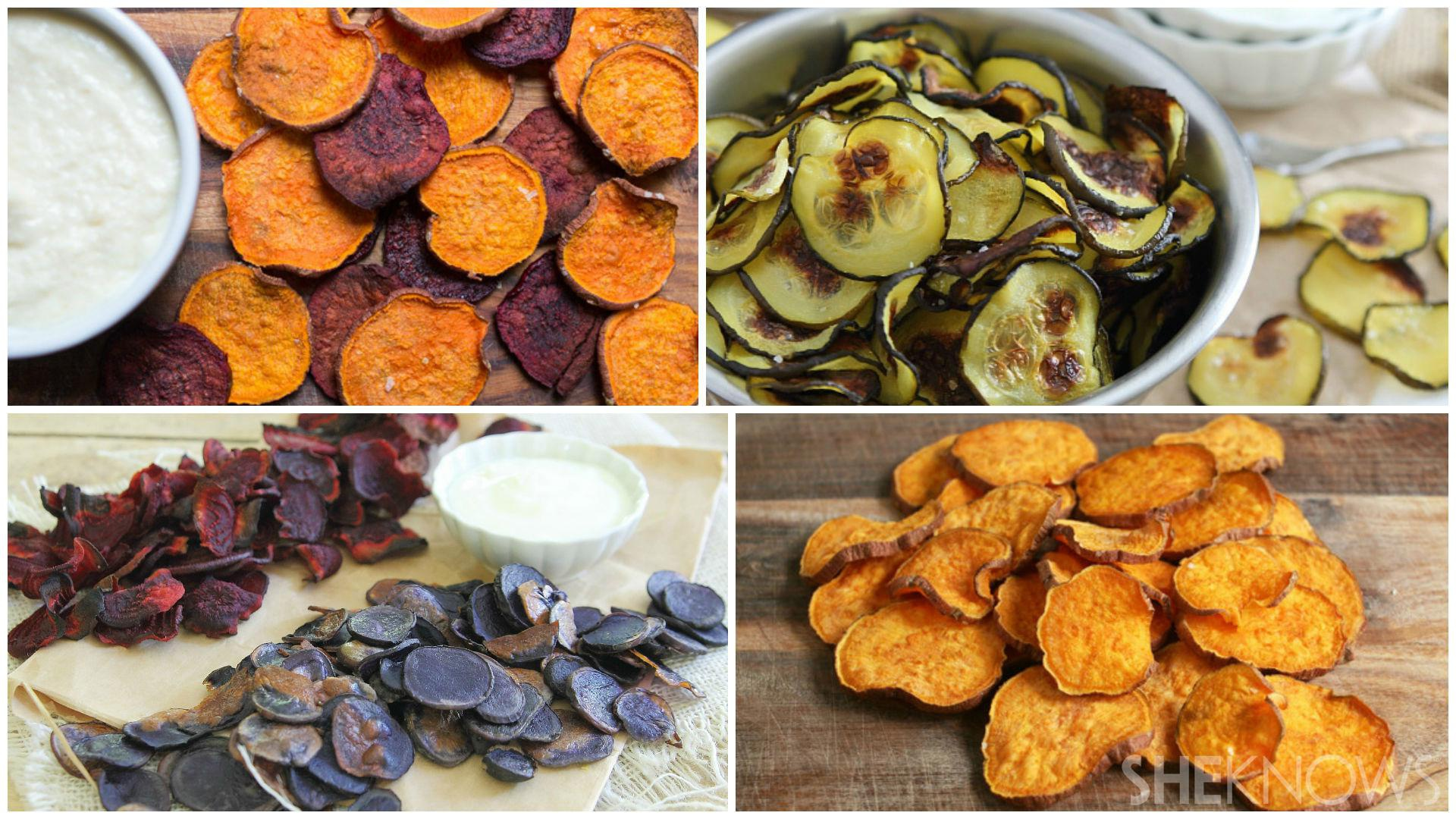 Homemade chips you won't feel bad about eating