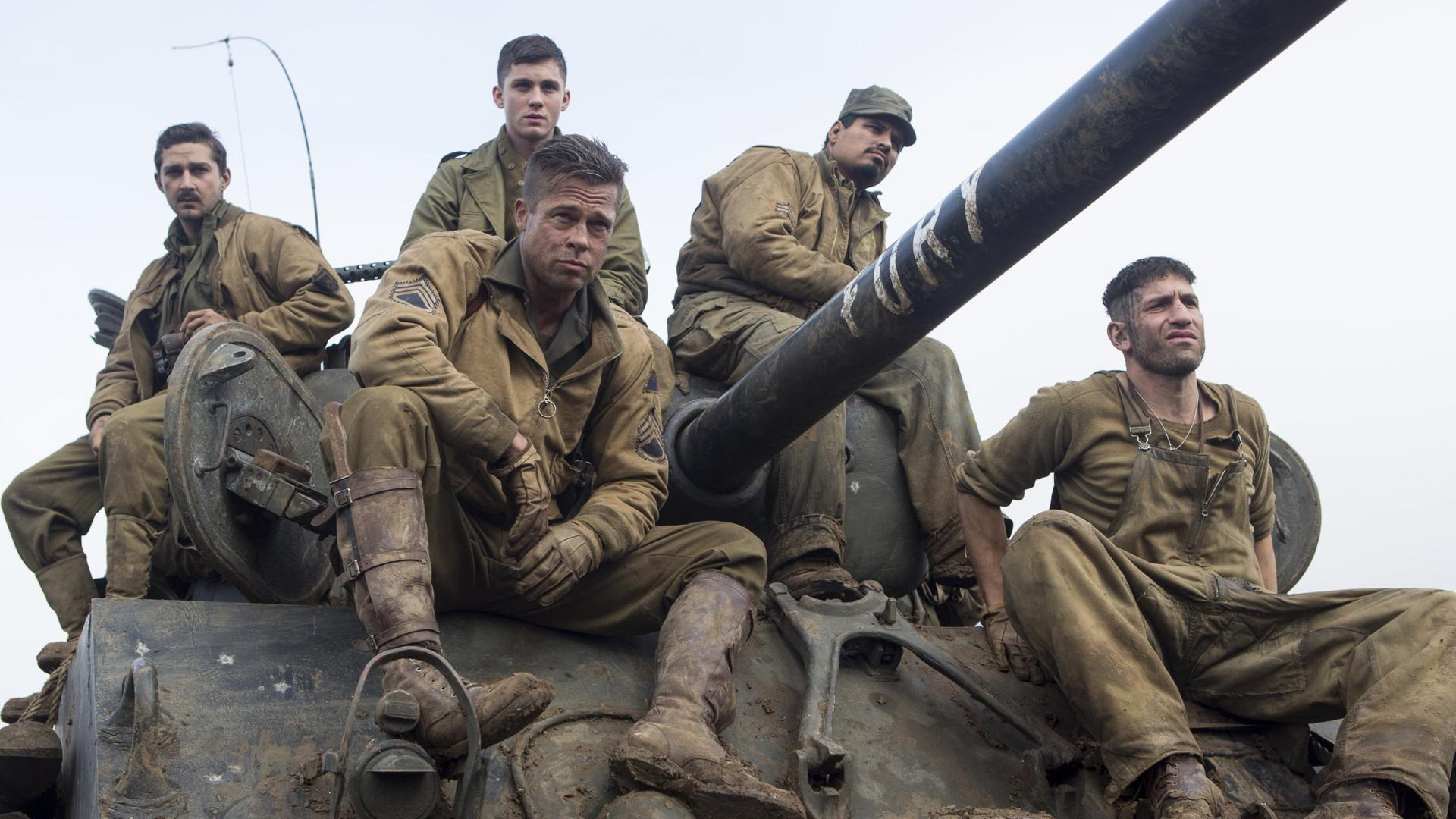 5 unforgettable Brad Pitt quotes from the new <em>Fury</em> trailer