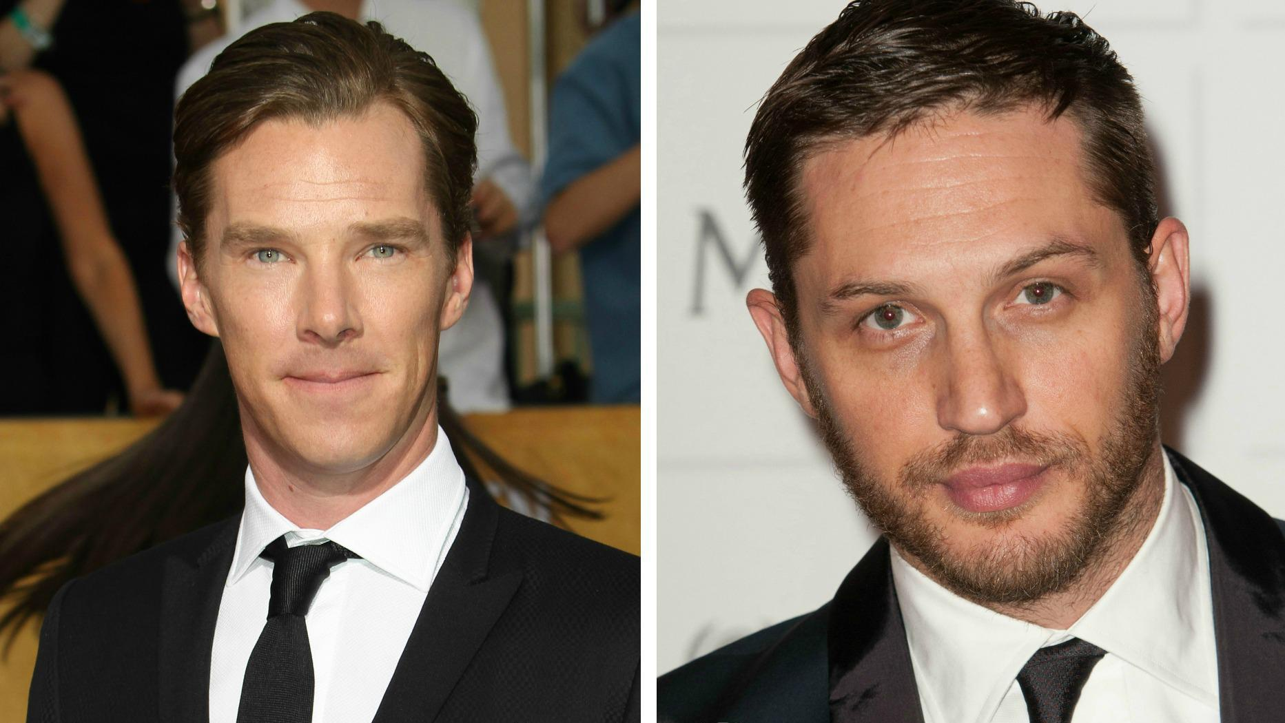 Who's hotter: Benedict Cumberbatch vs. Tom Hardy