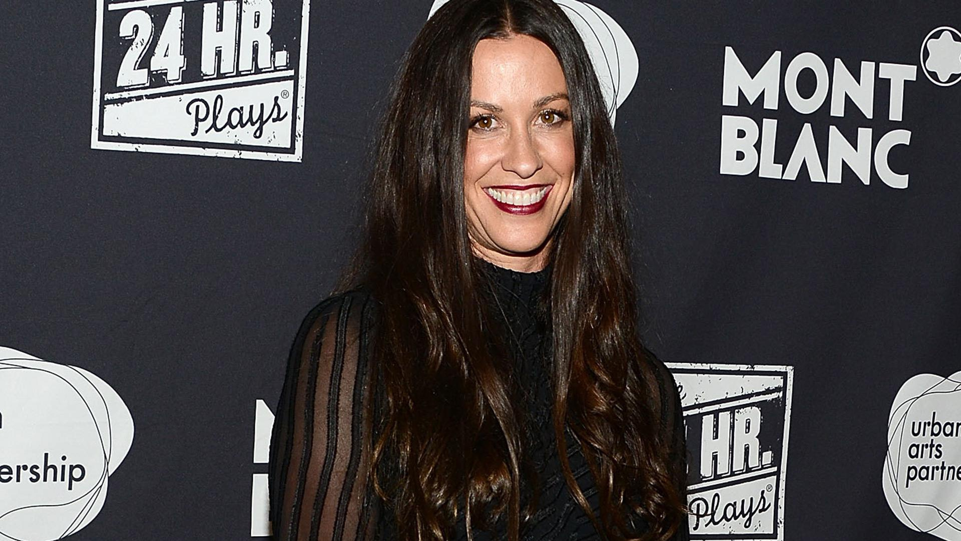 Alanis Morissette shares a nursing photo for World Breastfeeding Week (VIDEO)