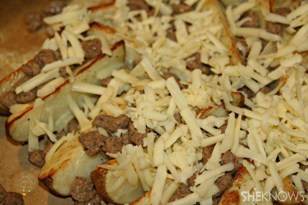 Touchdown turkey sausage taters