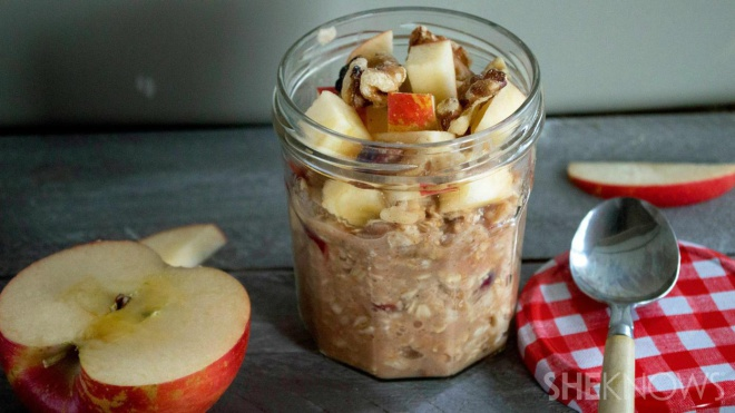 make ahead breakfast overnight oats