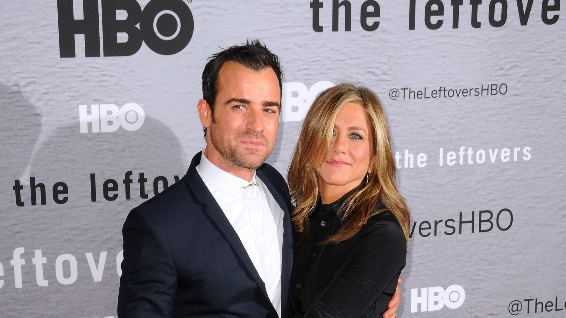 Jennifer Aniston is completely smitten with Justin Theroux