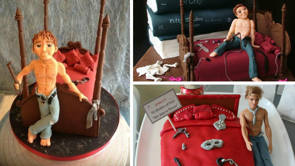5 Creepy <em>Fifty Shades of Grey</em> cakes NO ONE wants