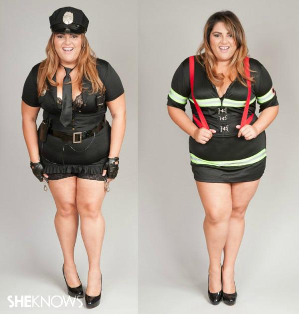 yes, you can be plus size and wear a sexy halloween costume