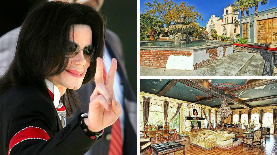 Michael Jackson once rented this Las Vegas palace, now it's for sale
