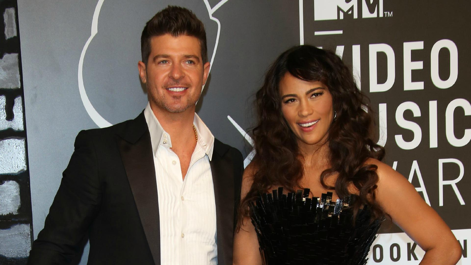 Robin thicke dating