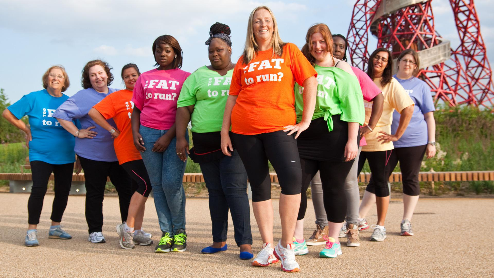 """""""Fat girl"""" challenges runners' stereotypes"""