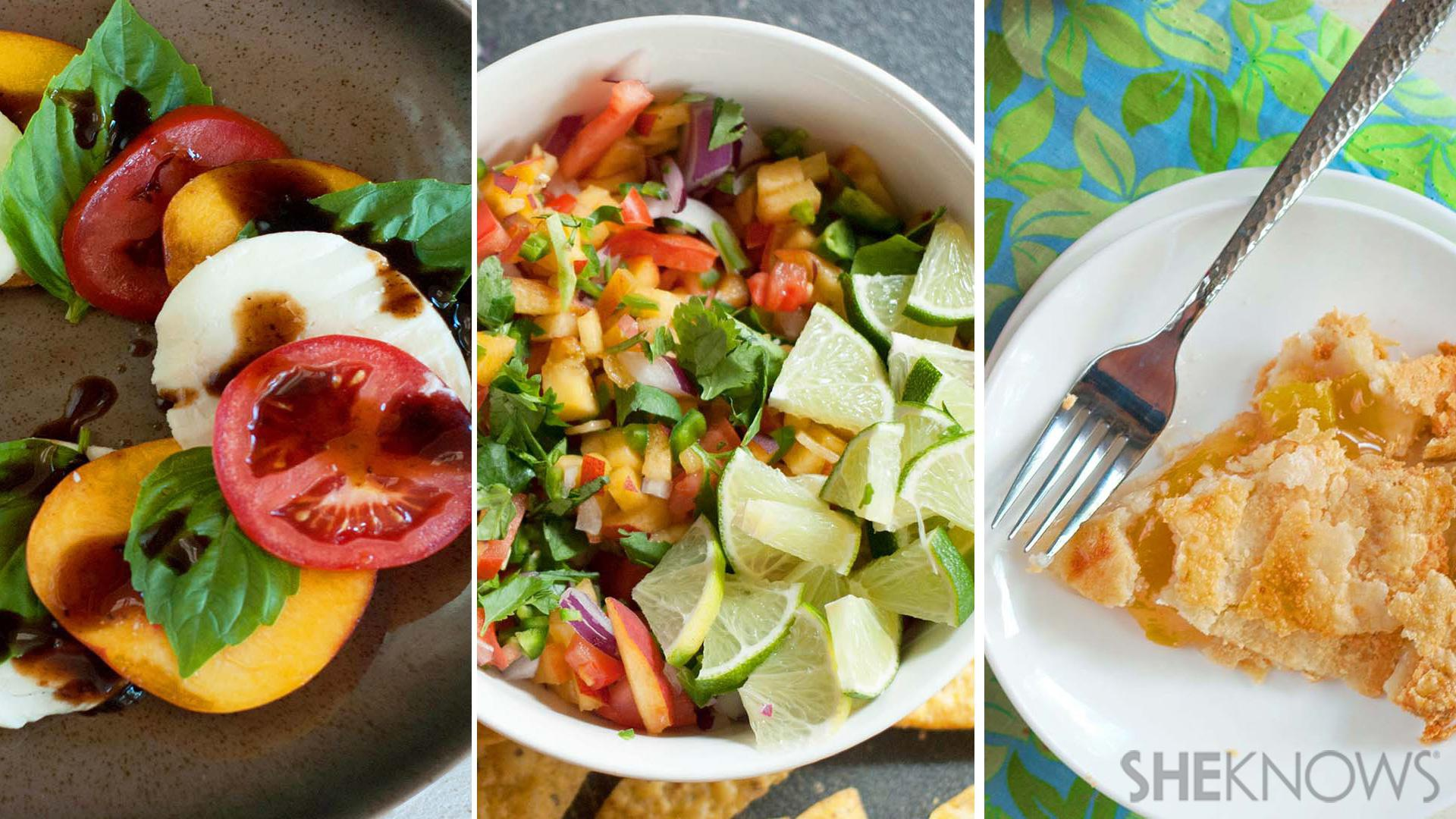 3 Easy ways to use your fresh summer peaches