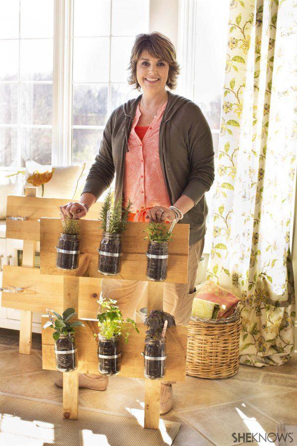 Adorable DIY herb gardens