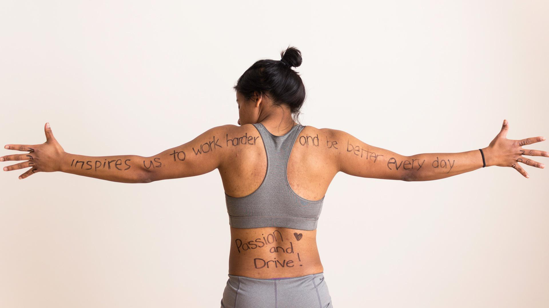 Harvard's women's rugby team tackles body hate with kick-ass photo project