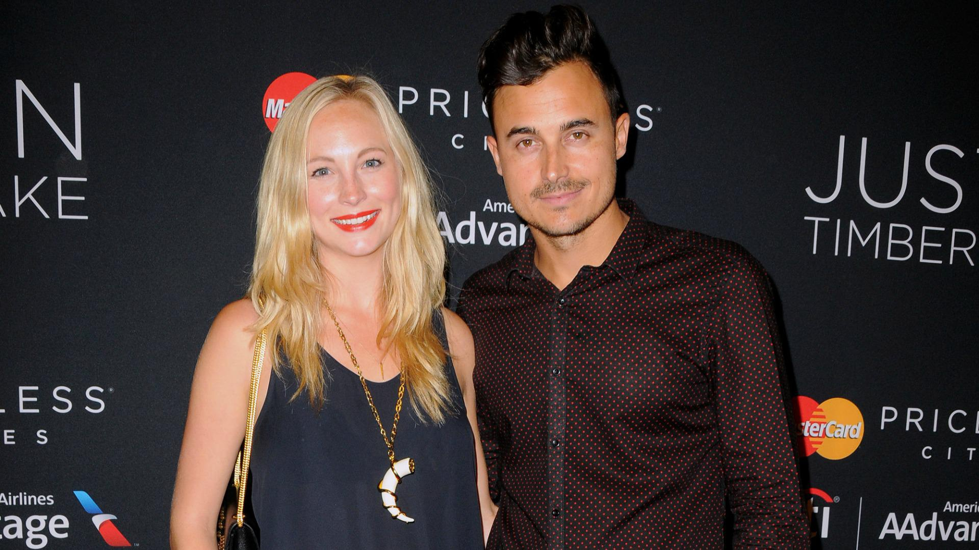 <em>Vampire Diaries</em>' Candice Accola marries, co-stars attend (PHOTOS)
