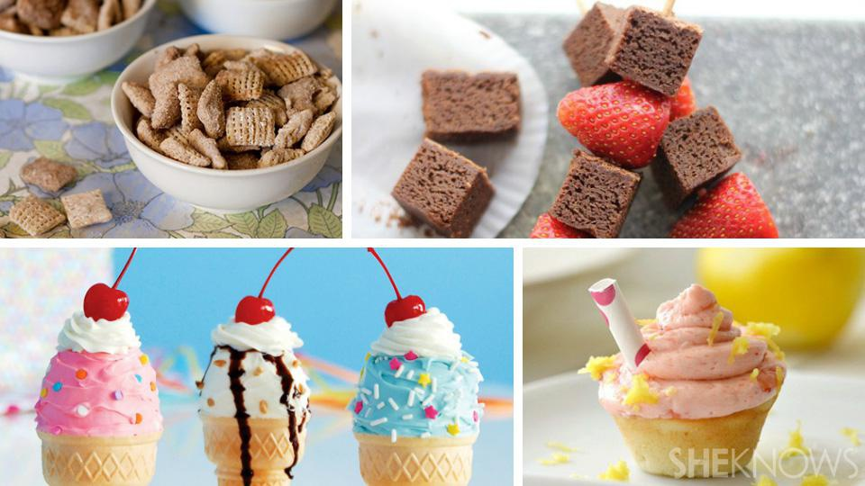 Easy and fun treats to share with the class