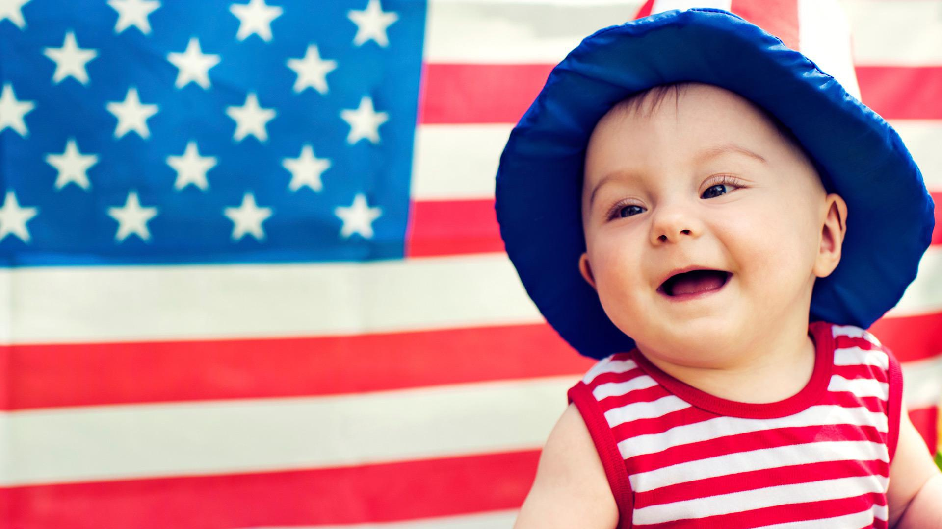 50 Patriotic baby names for independent kids