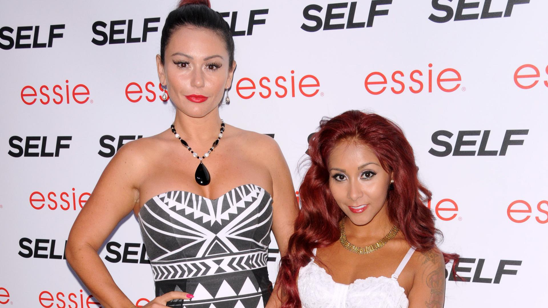 Snooki's son and JWoww's daughter get their first play date