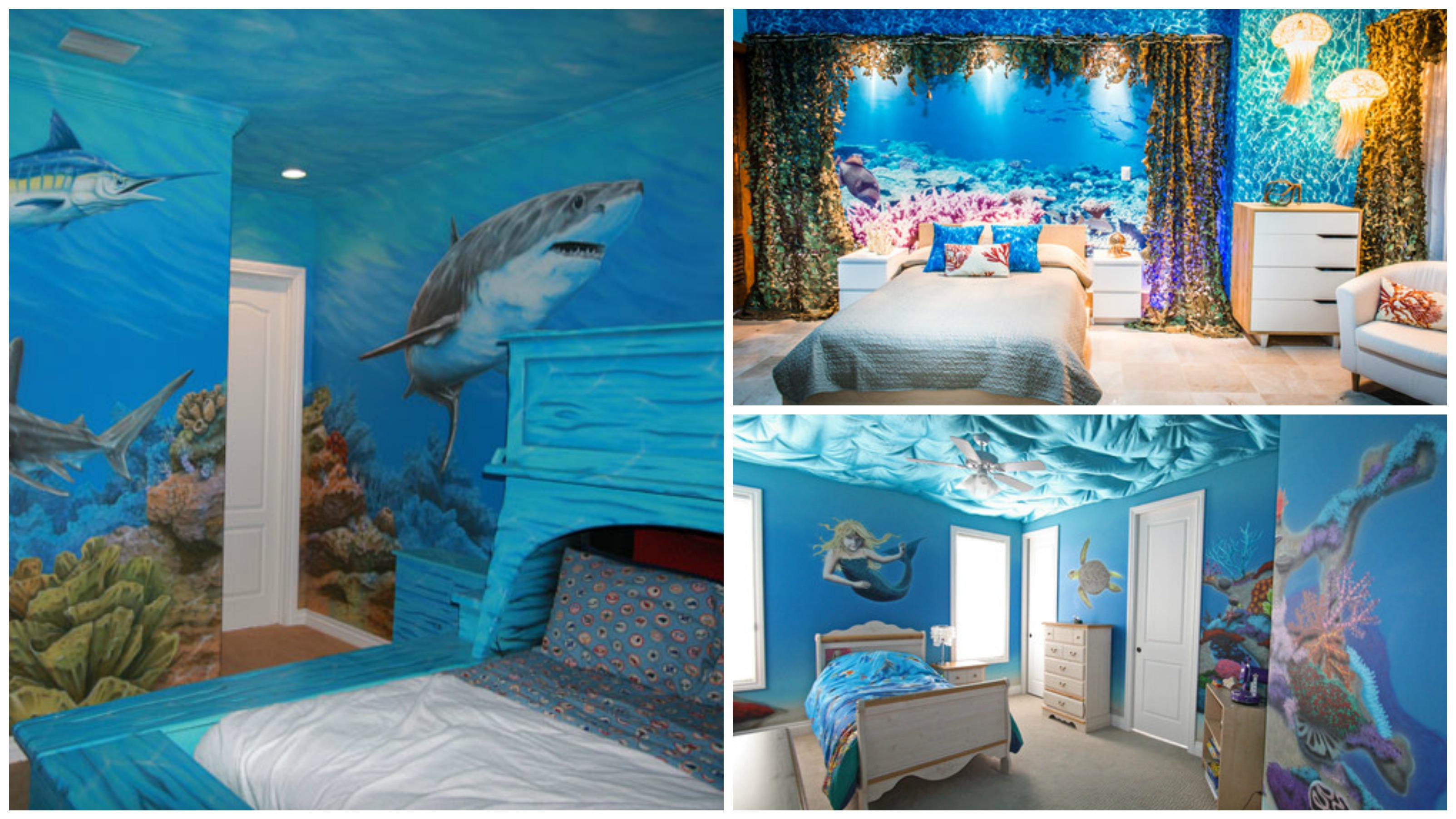 10 bedrooms that look like they 39 re under water