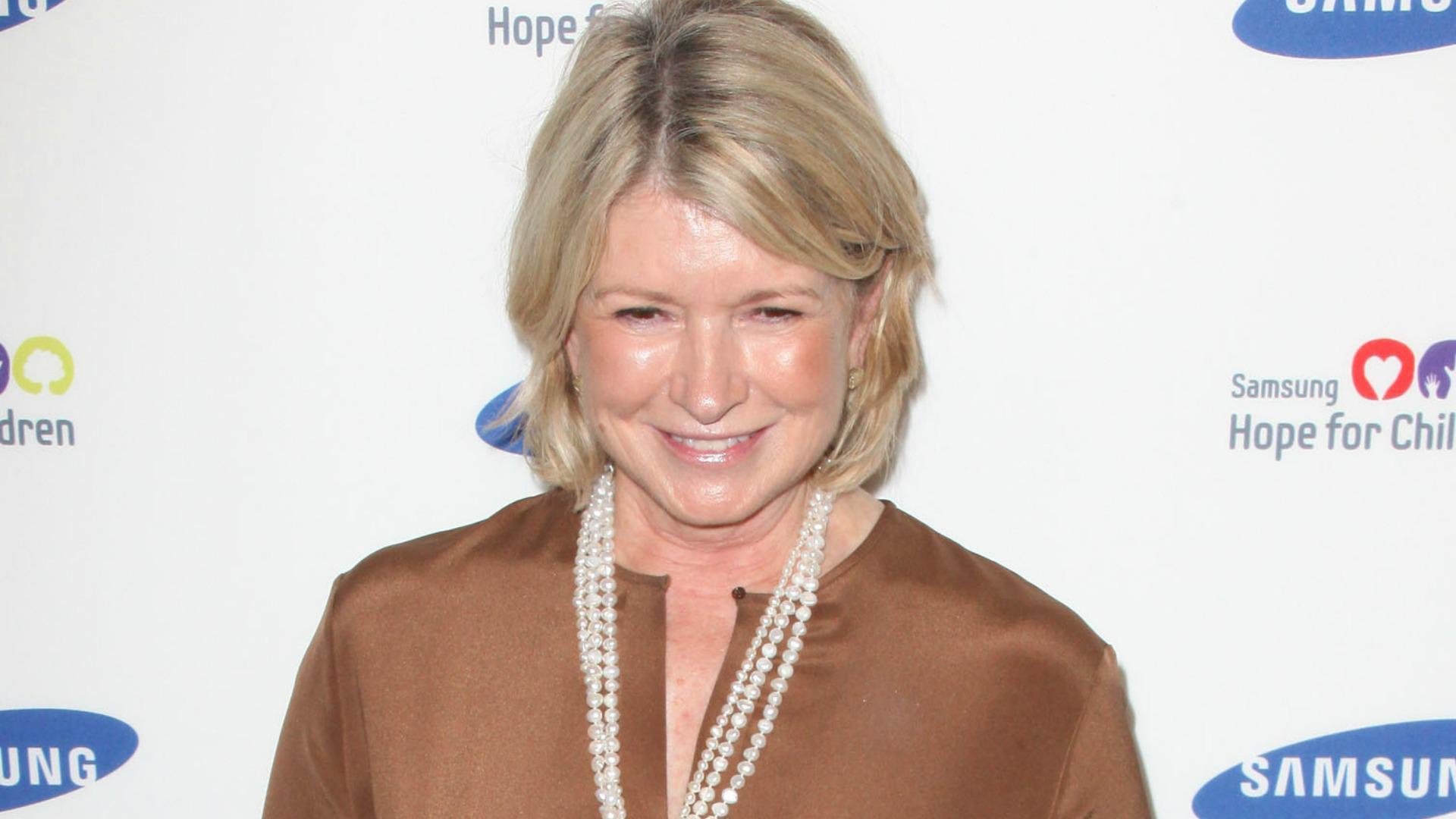 Martha Stewart's on the market: For a man, not more pets