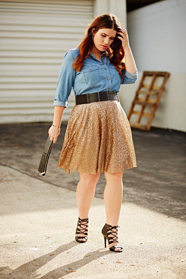 Seven Stylish Plus-size Skirts