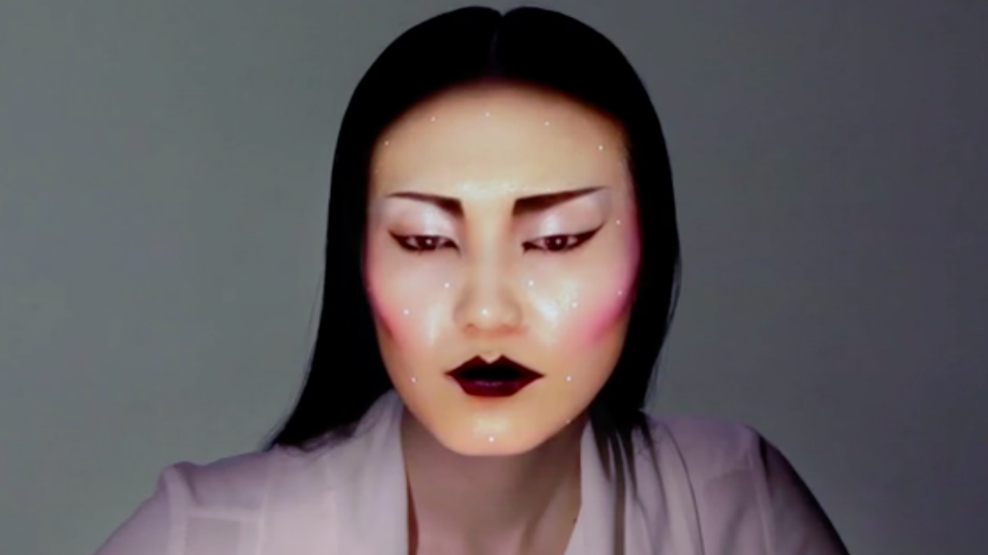 "This is what ""electronic makeup"" looks like (VIDEO)"