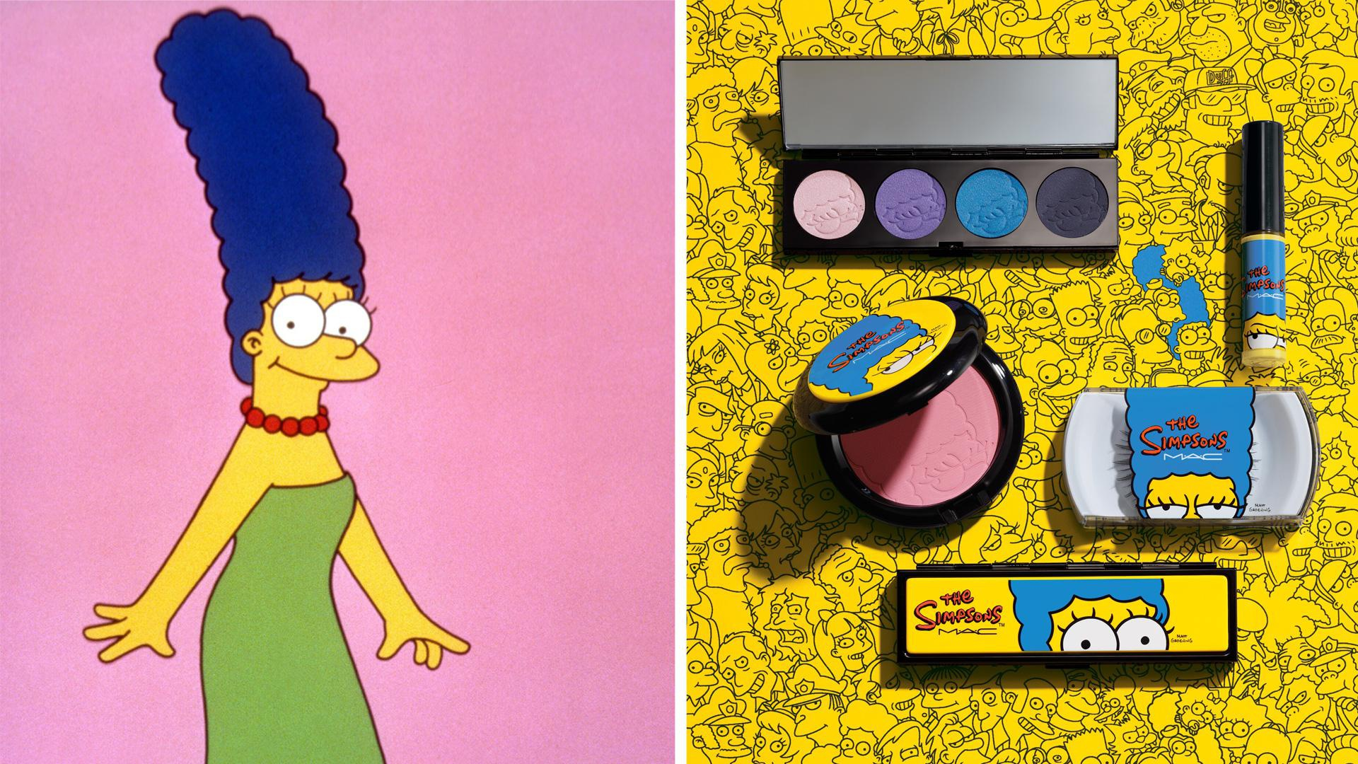 Whoa, mama! Check out MAC's Marge Simpson makeup line