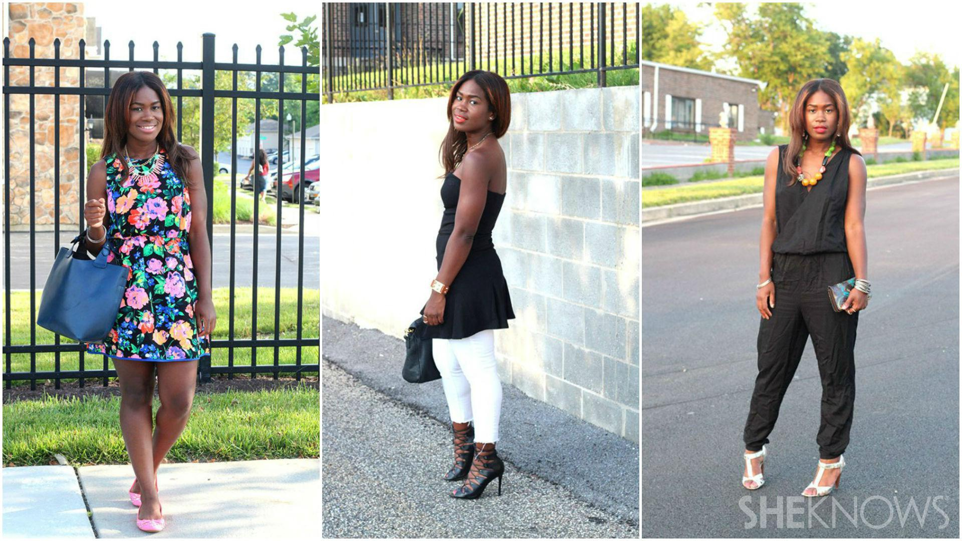 The closet remix: 3 Pieces styled 3 ways