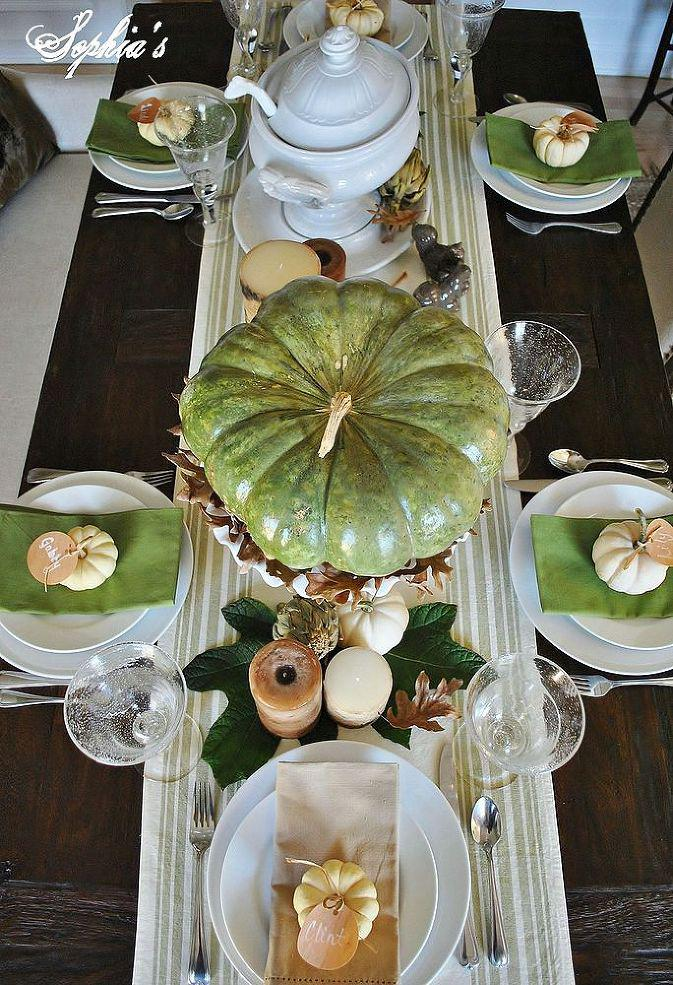 Shop your backyard to get these 10 incredible thanksgiving decorations