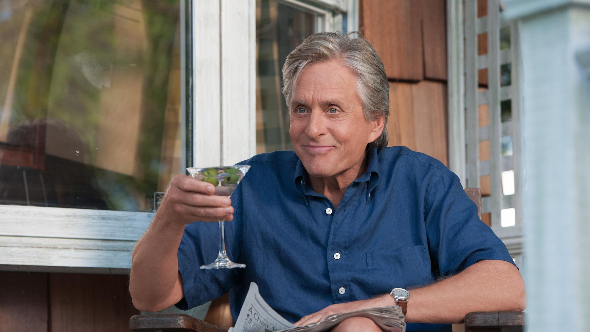 "<em>And So It Goes</em>' Michael Douglas on Diane Keaton: ""I've always admired her from afar"""