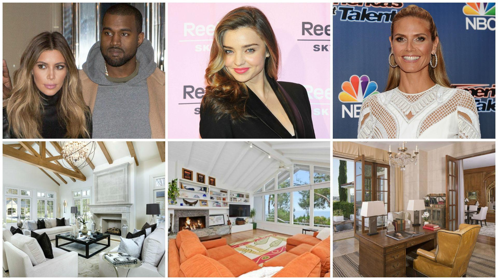 Celebrity real estate: Kim Kardashian, Miranda Kerr and Heidi Klum hit the housing market