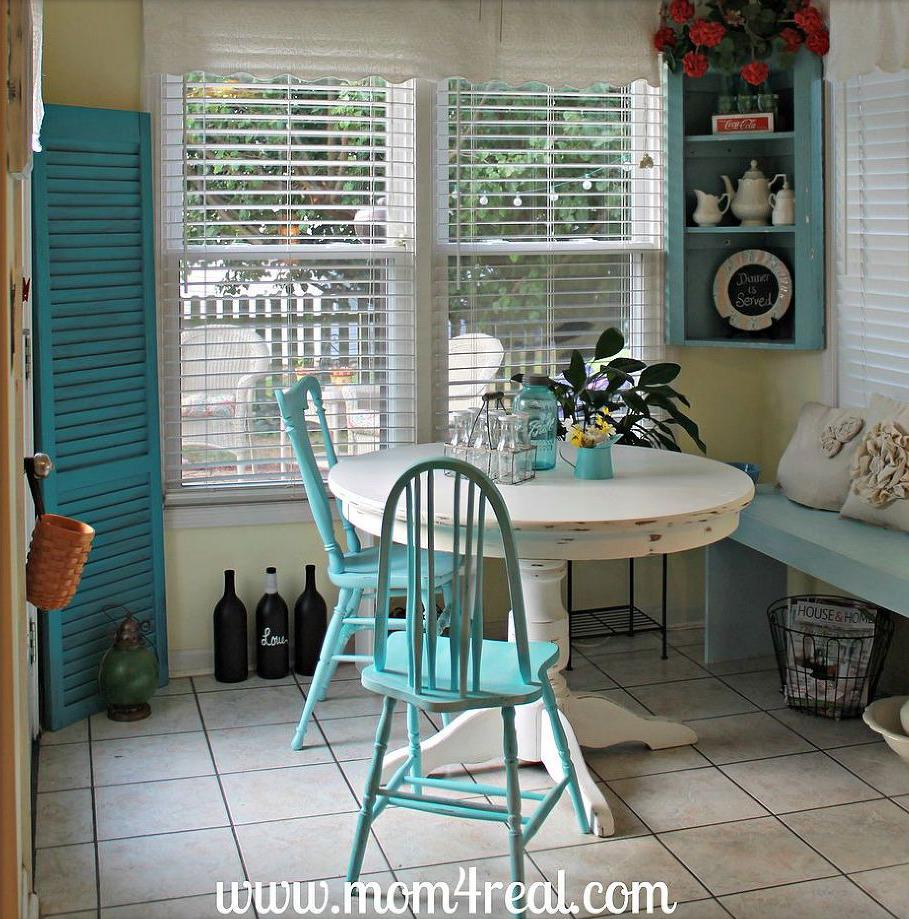 Breakfast nooks so quaint you'll become a morning person just looking at them