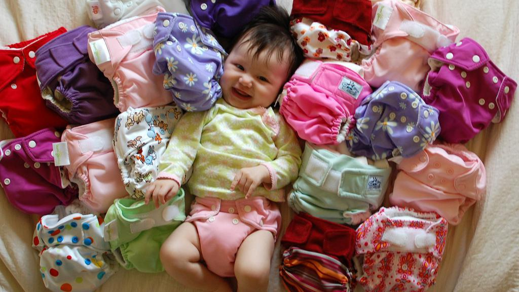 The best cloth diaper cakes you've ever seen