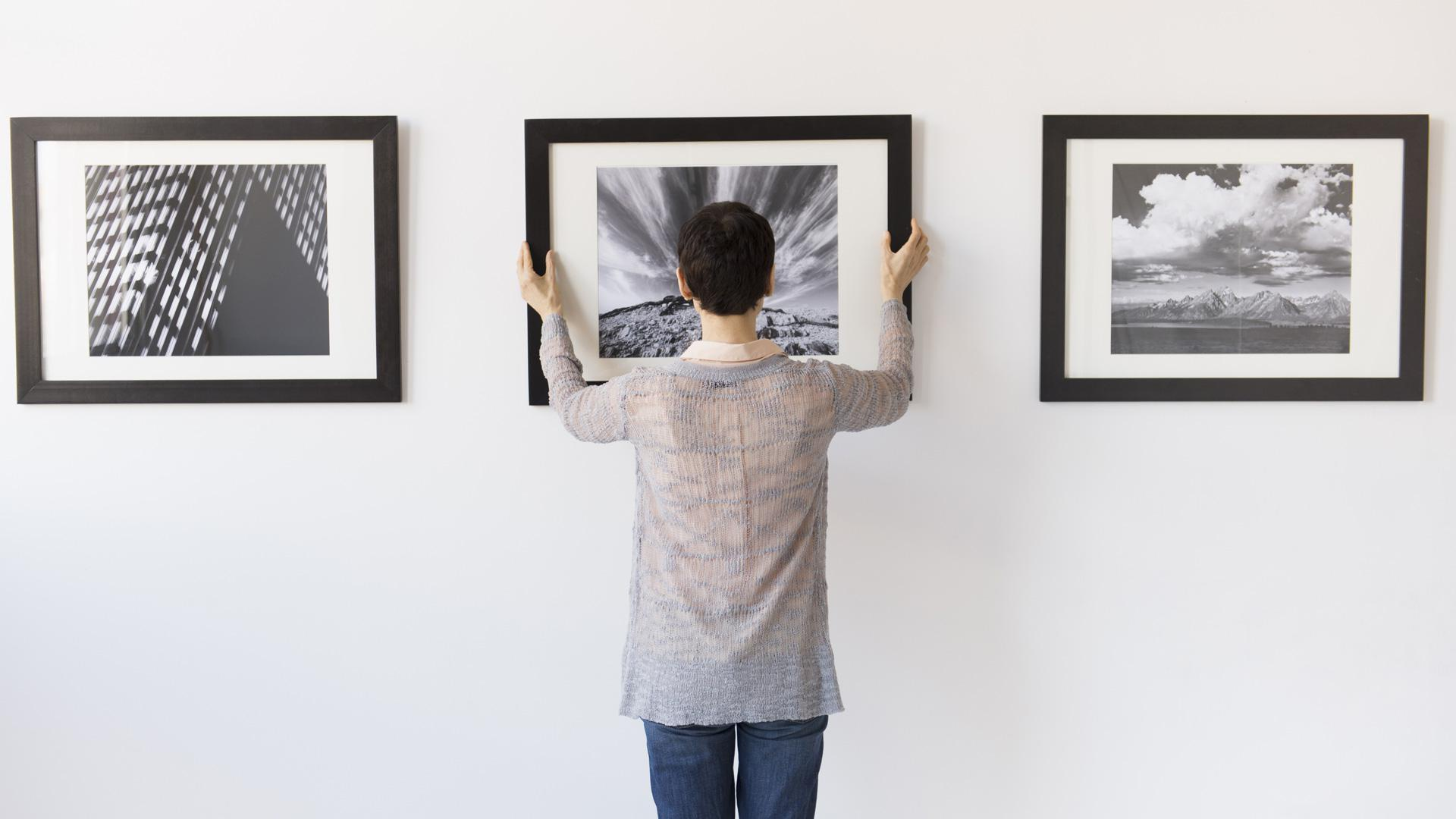 The Handy Guide To Hanging Artwork On Any Type Of Wall