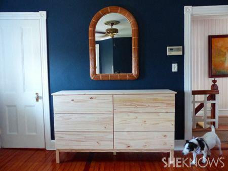 Nautical-inspired DIY dresser