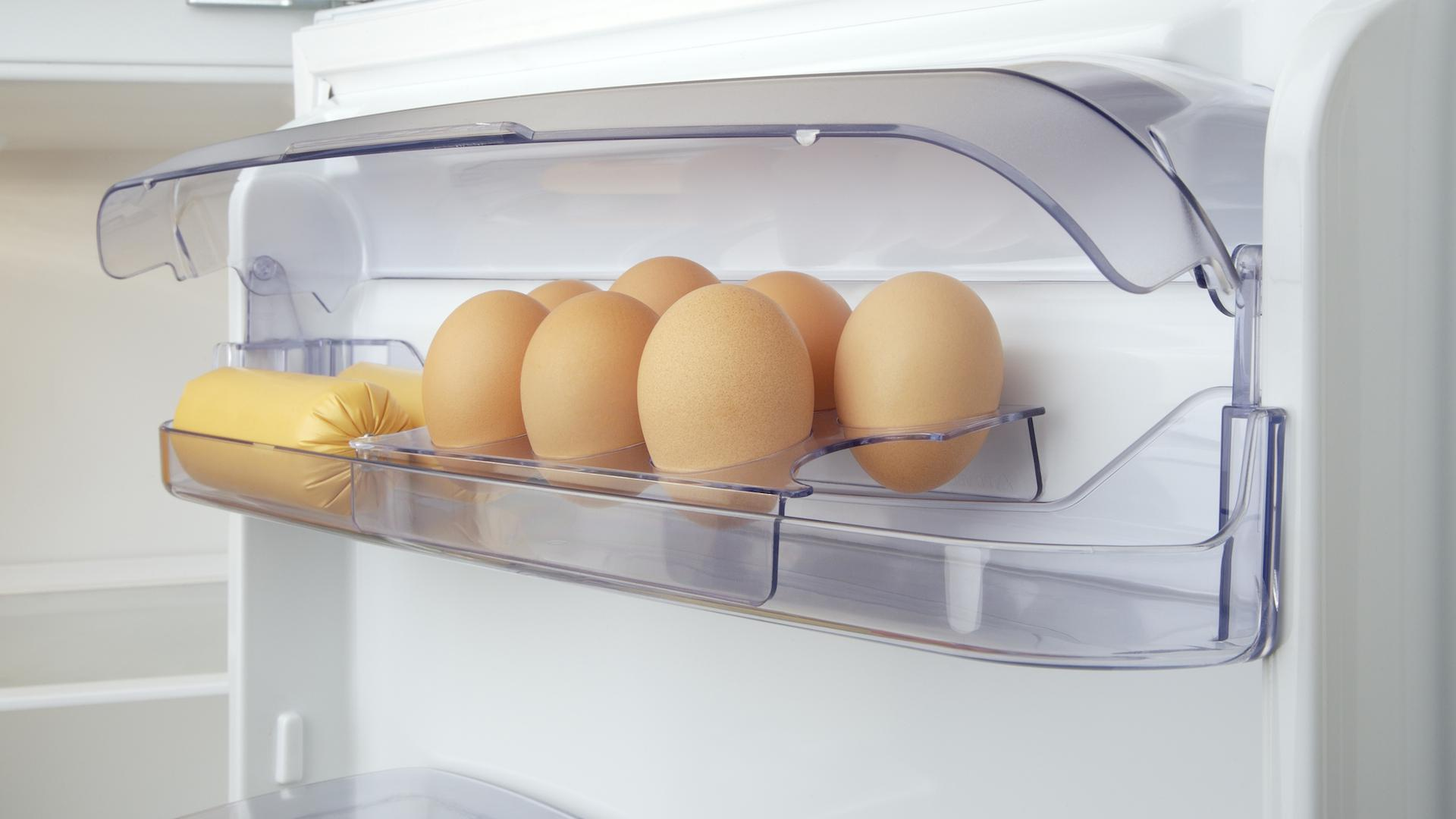 How long do eggs stay good in the refrigerator?