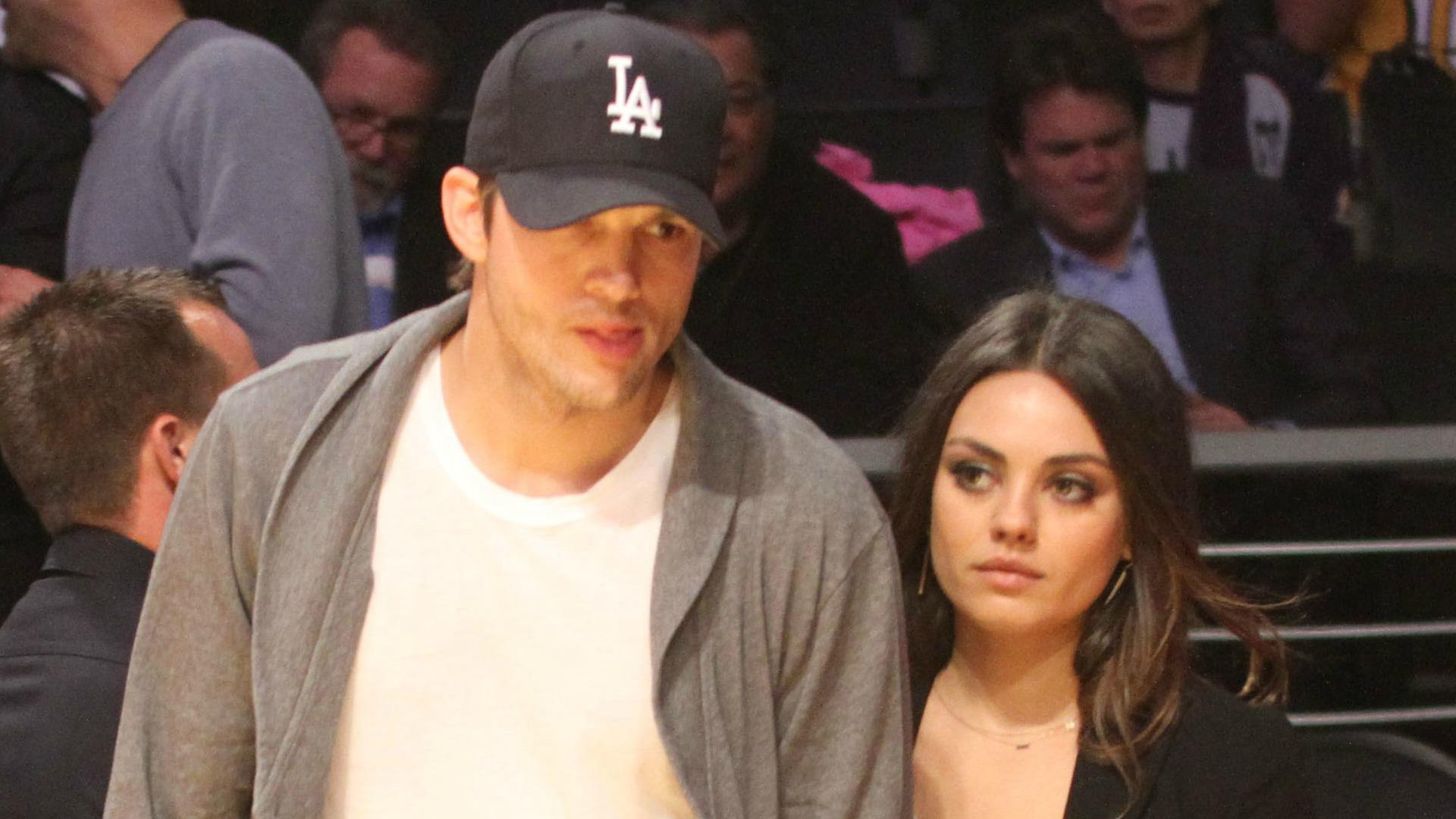 Ashton Kutcher & Mila Kunis: The real-life Ross & Rachel